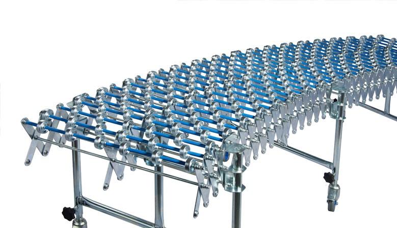 Agrandir l'image Précédent Convoyeurs extensibles à galets PVC ou ACIER Convoyeurs extensibles à galets PVC ou ACIER Convoyeurs extensibles à galets PVC ou ACIER Convoyeurs extensibles à galets